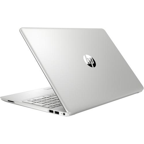 HP 15s-du2061tu 10th Gen Intel Core i3 1005G1 (1.20GHz-3.40GHz, 4GB DDR4, 1TB HDD, No-ODD) 15.6 Inch FHD (1920x1080) Display, Win 10, Silver Notebook #168Q9PA-2Y