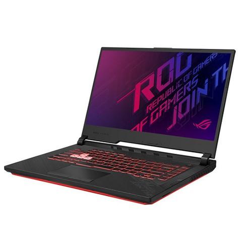 Asus ROG Strix G15 G512LI 10th Gen Intel Core i5 10300H (2.50GHz-4.50GHz, 8GB DDR4, 512GB PCIe SSD, No-ODD) Nvidia GTX 1650Ti 4GB GDDR6 Graphics, 15.6 Inch FHD (1920x1080) Display, Backlit Keyboard, Win 10, Black Gaming Notebook #HN256T